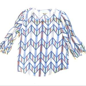 Skies Are Blue blouse. Size M.